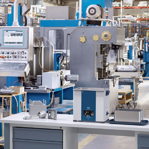 Elmasonic Select im industriellen Einsatz